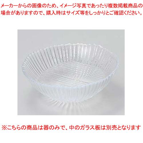 【まとめ買い10個セット品】和食器 ハ011-056 氷光刺身鉢(ガラス) 【キャンセル/返品不可】