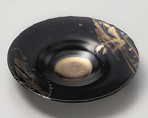 【まとめ買い10個セット品】和食器 カ023-047 ゴールド線模様6寸皿【キャンセル/返品不可】
