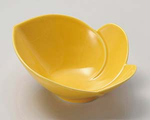 【まとめ買い10個セット品】和食器 カ025-127 黄交趾かぶ型鉢【キャンセル/返品不可】
