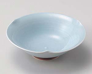 【まとめ買い10個セット品】和食器 ホ033-117 青磁三ツ押鉢【キャンセル/返品不可】