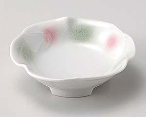 【まとめ買い10個セット品】和食器 ユ034-147 淡雪二色吹花型5.0鉢【キャンセル/返品不可】