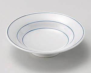 【まとめ買い10個セット品】和食器 カ035-207 筋リム4.5高台皿【キャンセル/返品不可】