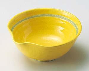 【まとめ買い10個セット品】和食器 ア042-157 黄釉片口小鉢【キャンセル/返品不可】
