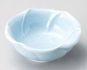 【まとめ買い10個セット品】和食器 テ064-467 青地輪花小鉢【キャンセル/返品不可】