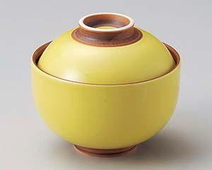 【まとめ買い10個セット品】和食器 テ103-237 黄釉円菓子碗【キャンセル/返品不可】