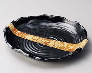 ファッション 【まとめ買い10個セット品】和食器 オ161-126 黒柚子黄瀬戸手付大皿【キャンセル/返品不可 オ161-126】, NEXT FOCUS:a63ca4ad --- hortafacil.dominiotemporario.com