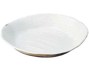【まとめ買い10個セット品】和食器 メ232-056 荒土しのぎ手13.0大鉢 【キャンセル/返品不可】