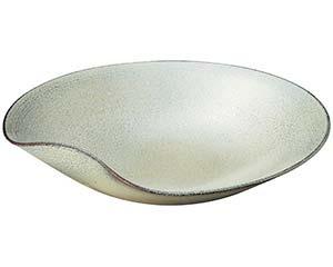【まとめ買い10個セット品】和食器 メ233-117 チタン12.6丸鉢【キャンセル/返品不可】