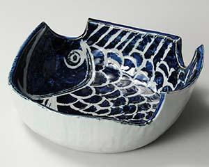 【まとめ買い10個セット品】和食器 オ246-017 魚大鉢【キャンセル/返品不可】