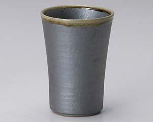 鉄釉フリーカップ【キャンセル/返品不可】 【まとめ買い10個セット品】和食器 ヤ270-117