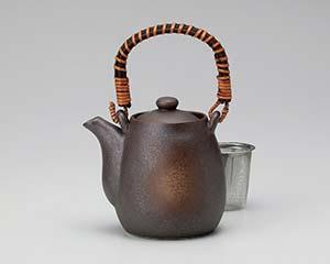 【まとめ買い10個セット品】和食器 ウ391-256 錆茶吹土瓶 【キャンセル/返品不可】