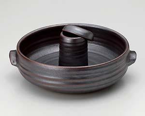 【まとめ買い10個セット品】和食器 ス399-577 鉄結晶しゃぶしゃぶ鍋【キャンセル/返品不可】