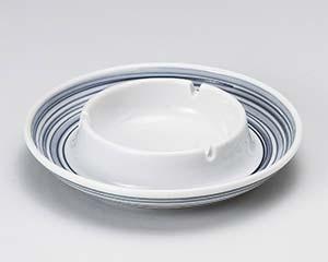 【まとめ買い10個セット品】オ744-057 フジ渦6.0灰皿【キャンセル/返品不可】
