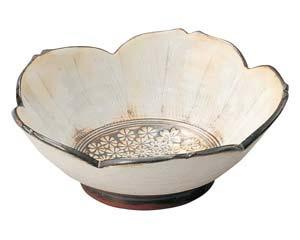 【まとめ買い10個セット品】和食器 ネ442-046 桜鉢 【キャンセル/返品不可】