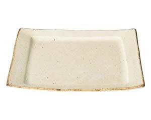 【まとめ買い10個セット品】和食器 イ466-096 粉引盛り皿 【キャンセル/返品不可】