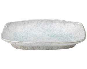isj-472-017 販売期間 限定のお得なタイムセール 予約 まとめ買い10個セット品 和食器 ス472-017 返品不可 キャンセル 10号長盛皿 青釉