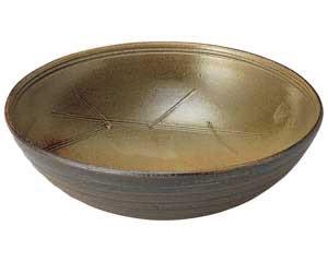 【まとめ買い10個セット品】和食器 ネ497-046 8.0大鉢 【キャンセル/返品不可】