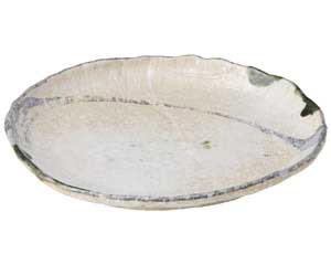 【まとめ買い10個セット品】和食器 ス503-636 10号丸変形皿 【キャンセル/返品不可】
