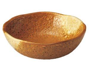 【まとめ買い10個セット品】和食器 ウ505-136 木の葉型5.0鉢 【キャンセル/返品不可】