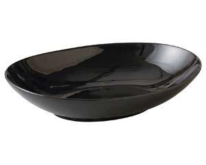 【まとめ買い10個セット品】ユ507-197 ブラックオーバルボール【キャンセル/返品不可】