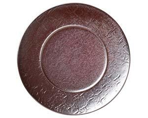 【まとめ買い10個セット品】和食器 キ535-056 紅彩28cmプレート 【キャンセル/返品不可】