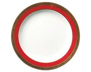 【まとめ買い10個セット品】和食器 ホ538-056 マロンゴールド7.5吋皿 【キャンセル/返品不可】