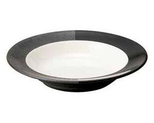【まとめ買い10個セット品】和食器 イ572-566 24cmスープ皿 【キャンセル/返品不可】