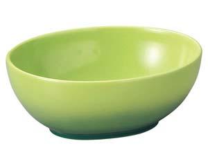 【まとめ買い10個セット品】和食器 キ578-146 オーバルボール GR 【キャンセル/返品不可】