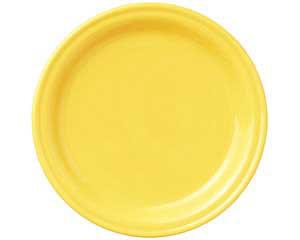 【まとめ買い10個セット品】和食器 ト580-546 イエロー12吋皿 【キャンセル/返品不可】