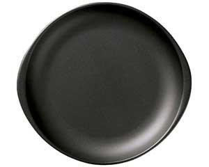 【まとめ買い10個セット品】ス596-287 ブラックセラム(超耐熱・直火OK!!) 陶板(小)【キャンセル/返品不可】