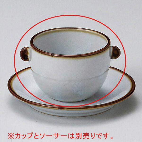 【まとめ買い10個セット品】ミ601-217 うのふ渕茶マルチ碗【キャンセル/返品不可】