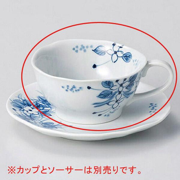 【まとめ買い10個セット品】和食器 オ606-206 手描小花ティーカップのみ 【キャンセル/返品不可】