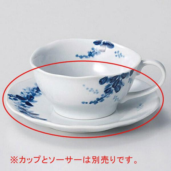 【まとめ買い10個セット品】和食器 オ606-276 手描萩ティーカップと受皿 【キャンセル/返品不可】