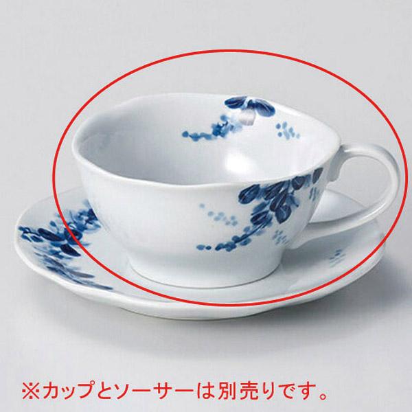 【まとめ買い10個セット品】和食器 オ606-286 手描萩ティーカップのみ 【キャンセル/返品不可】