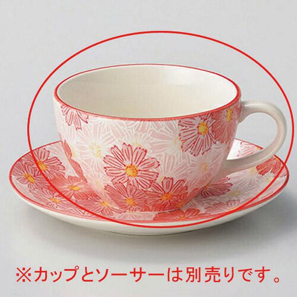 【まとめ買い10個セット品】イ606-337 華々ピンクコーヒー碗【キャンセル/返品不可】
