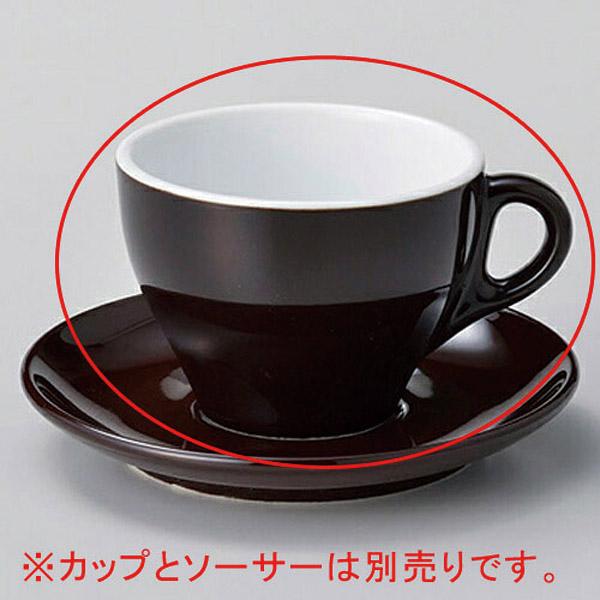 【まとめ買い10個セット品】タ607-317 プリートラテ碗 黒茶【キャンセル/返品不可】
