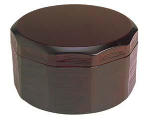 【まとめ買い10個セット品】和食器 ヌ701-096 [TA]耐熱木彫飯器 溜(内朱)(大) 【キャンセル/返品不可】