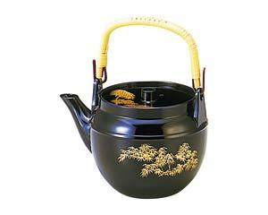 【まとめ買い10個セット品】和食器 エ710-046 [TA]耐熱ABS土瓶 瑠璃金竹(小)(0.7?) 【キャンセル/返品不可】