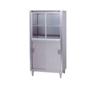 業務用 マルゼン 食器戸棚 BDS-127G 【 厨房機器 】 【 メーカー直送/後払い決済不可 】