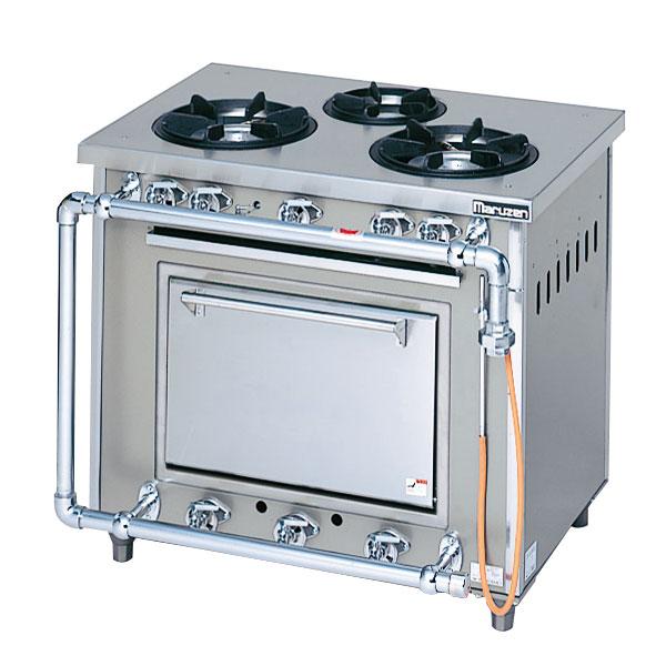 マルゼン スタンダードタイプガスレンジ MGR-096DS 900×600×800 LPG(プロパンガス)【 メーカー直送/後払い決済不可 】