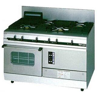 マルゼン パワークックガスレンジ MGRXS-127E 1200×750×800【 メーカー直送/後払い決済不可 】