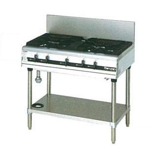 マルゼン パワークックガステーブル MGTX-096E 900×600×800【 メーカー直送/後払い決済不可 】