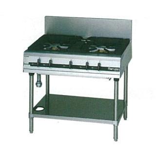 マルゼン パワークックガステーブル MGTXS-096E 900×600×800 LPG(プロパンガス)【 メーカー直送/後払い決済不可 】