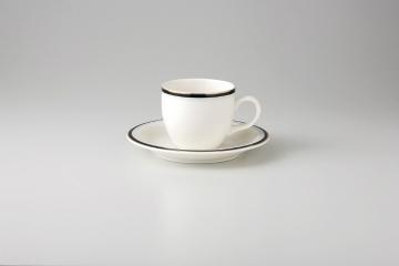 【まとめ買い10個セット品】和食器 マリーンブラック コーヒーC/S 36A467-05 まごころ第36集 【キャンセル/返品不可】