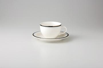 【まとめ買い10個セット品】和食器 マリーンブラック 紅茶C/S 36A467-06 まごころ第36集 【キャンセル/返品不可】