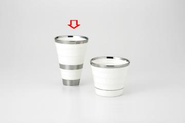 【まとめ買い10個セット品】和食器 サイフォン フリーカップ白B 36A276-08 まごころ第36集 【キャンセル/返品不可】