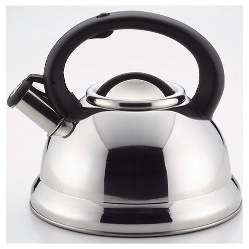 【ステンレス製 ケトル イージア ステンレス製 早沸き 笛吹き ケットル 3.0リットル | キッチングッズ 台所 | 販売 】 イージア ステンレス製 早沸き 笛吹き ケットル 3.0L 【パール金属】