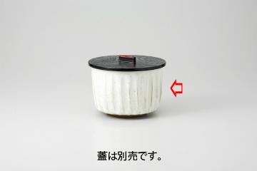 【まとめ買い10個セット品】和食器 粉引削ぎ 飯器 36K328-21 まごころ第36集 【キャンセル/返品不可】