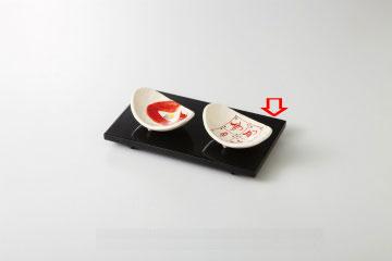 【まとめ買い10個セット品】和食器 黒漆 寿司皿 36Q103-04 まごころ第36集 【キャンセル/返品不可】