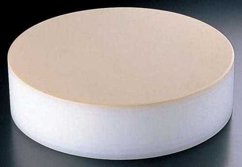 『 中華 まな板 業務用φ350 H153mm 』積層 プラスチック カラー中華まな板 小 153mm ベージュ【 メーカー直送/代金引換決済不可 】